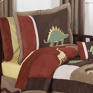 Sweet Jojo Designs Dinosaur Land 5-piece Toddler Comforter Set