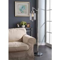 Carbon Loft Mangano 1-light Chrome Floor Lamp