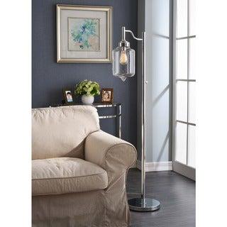 Carbon Loft Mangano 1-light Chrome Floor Lamp