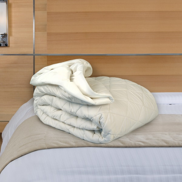 Natura World Wash N Snuggle Waterproof Wool Mattress Protector