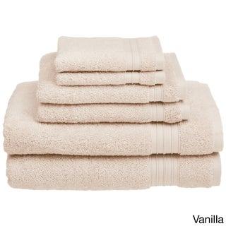 HygroSoft by Welspun 6-piece Towel Set (Option: Vanilla)