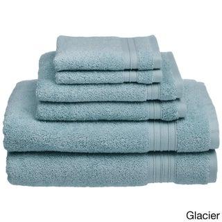 HygroSoft by Welspun 6-piece Towel Set (Option: Glacier)