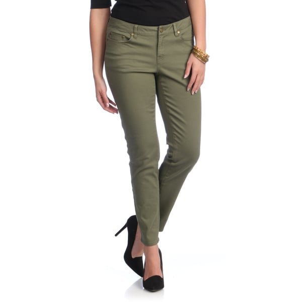 Images of Green Pants Womens - Klarosa