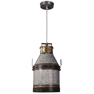 Boone 1-light Industrial Iron Pendant