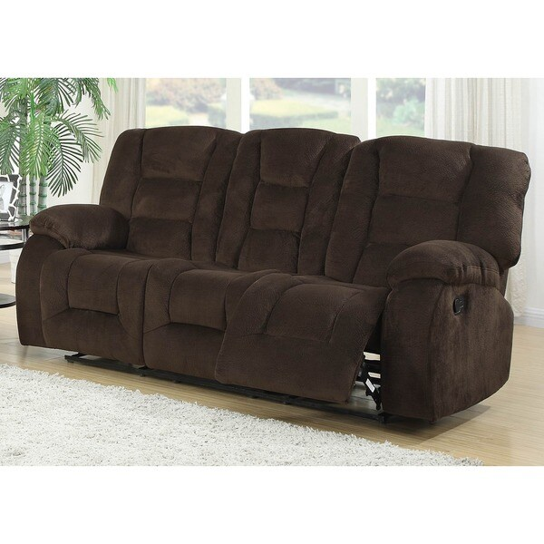 Dual Reclining Sofa Home Decor