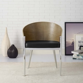 Cooper Walnut/ Black Dining Chair