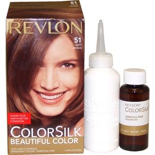 Revlon ColorSilk Beautiful Color #51 Light Brown Hair Color (1 Application)