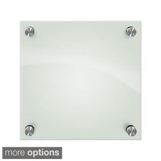 Enlighten Frosted Pearl Glass Dry Erase Marker Board