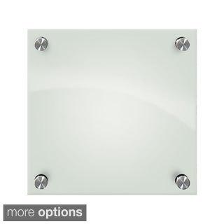 Enlighten Frosted Pearl Glass Dry Erase Marker Board