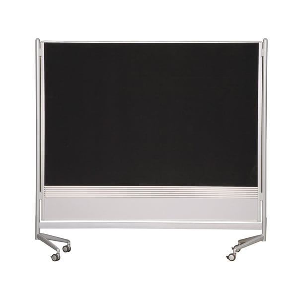 Balt Mobile Double-sided Divider Dura-Rite HPL Markerboard Hook and Loop DOC Room Partition