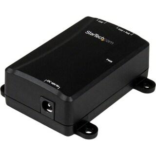 StarTech.com 1 Port Gigabit PoE Power over Ethernet Injector 48V / 30