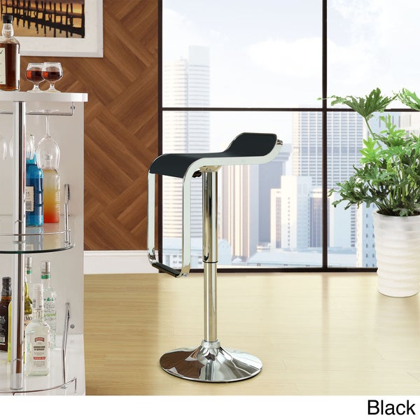 Low-back LEM Piston Style Vinyl Bar Stool