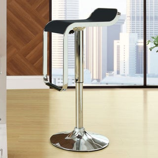 Low-back LEM Piston Style Vinyl Bar Stool (2 options available)