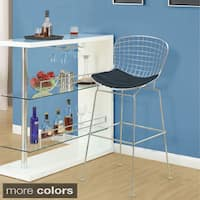 Wire Counter Height Chair Set Of 2 Free Shipping Today