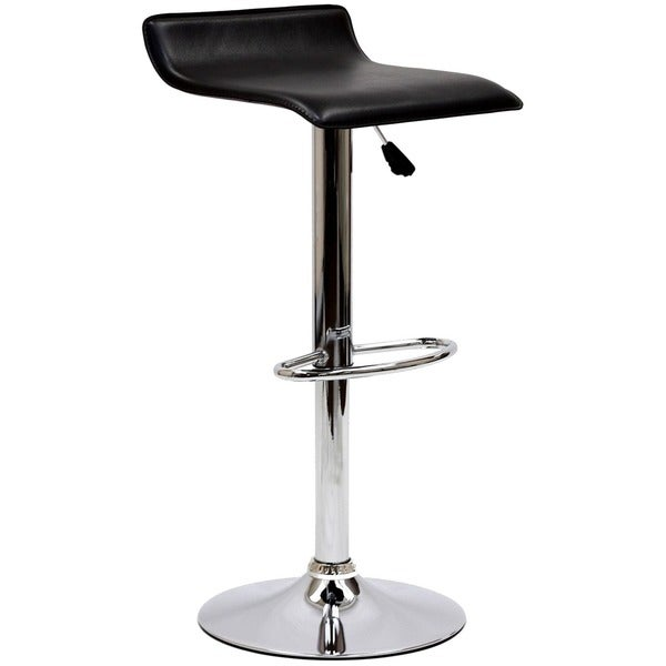 Gloria Low-back Leatherette Adsjustable Bar Stool  sc 1 st  Overstock.com & Gloria Low-back Leatherette Adsjustable Bar Stool - Free Shipping ... islam-shia.org