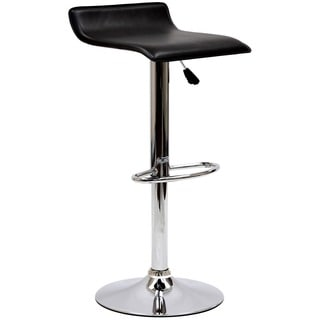 Gloria Low-back Leatherette Adsjustable Bar Stool