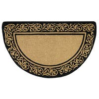 Heavy Duty Coir Decorative Bella Border Doormat