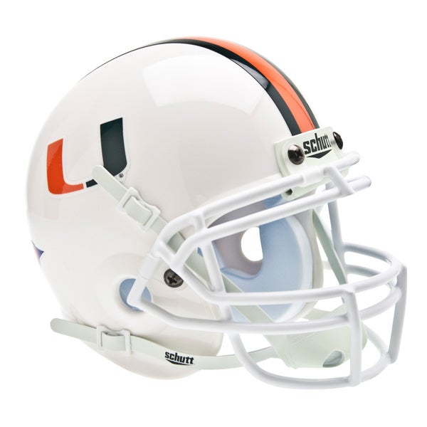 NCAA Miami Hurricanes Mini Football Helmet