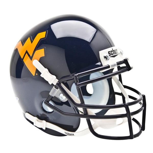 NCAA West Virginia Mountaineers Mini Football Helmet