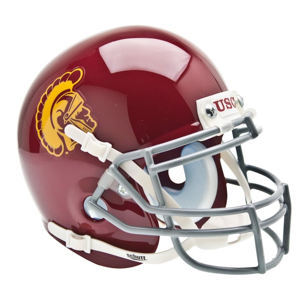 NCAA USC Trojans Mini Football Helmet