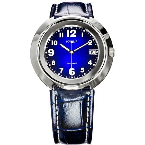 Jowissa Women's Pegasus Blue Leather Date Watch