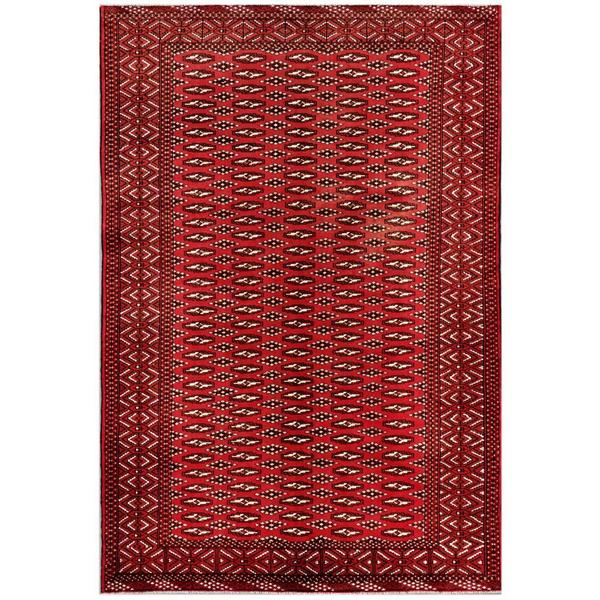 Handmade One-of-a-Kind Balouchi Wool Rug (Afghanistan) - 6'2 x 8'10