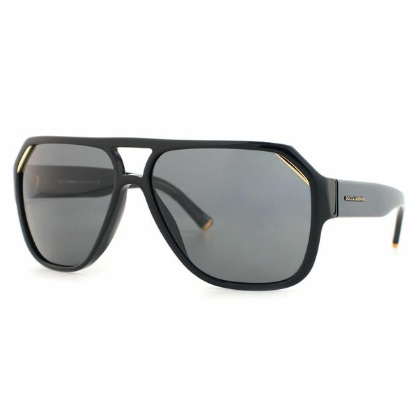 74ef6bcf3703 Shop Dolce   Gabbana Unisex  DG 4138 501 87  Black Fashion ...