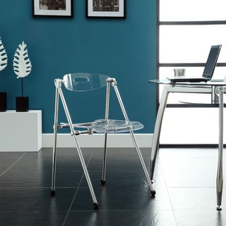 Clear Telescoping Chair