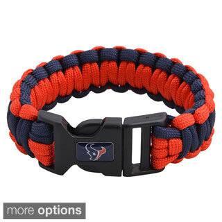 NFL Durable Nylon AFC South Survivor Bracelet|https://ak1.ostkcdn.com/images/products/8704858/P15955312.jpg?impolicy=medium