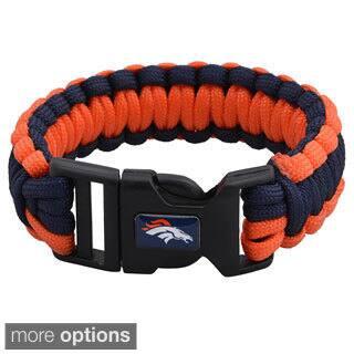 NFL Durable Nylon AFC West Survivor Bracelet|https://ak1.ostkcdn.com/images/products/8704877/NFL-Durable-Nylon-AFC-West-Survivor-Bracelet-P15955314.jpg?impolicy=medium