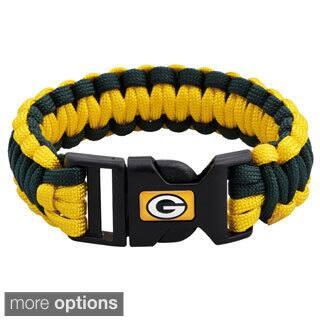 NFL Durable Nylon NFC North Survivor Bracelet|https://ak1.ostkcdn.com/images/products/8704883/NFL-Durable-Nylon-NFC-North-Survivor-Bracelet-P15955319.jpg?impolicy=medium