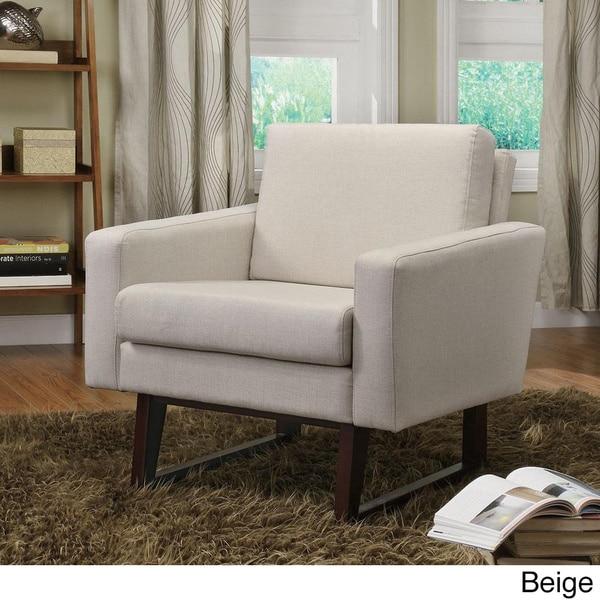 Dean Linen Accent Chair