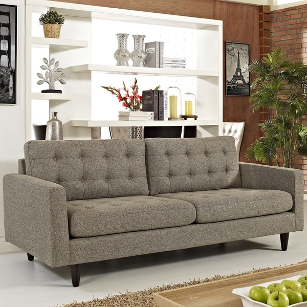 Shop Carson Carrington Humlebaek Upholstered Sofa Free Shipping