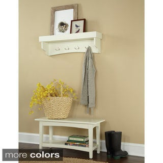 Fair Haven Coat Hook and Bench Set