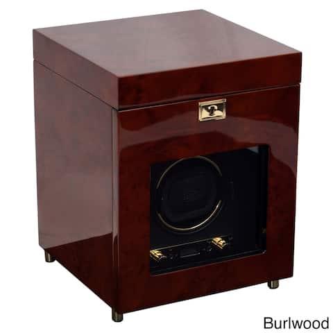 WOLF Savoy Single Winder and Storage Watch Box
