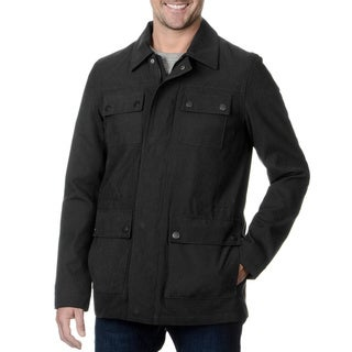 Fleet Street Men's Military Style Field Jacket