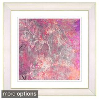 Zhee Singer 'Pastel Liana' Framed Fine Art Print