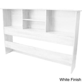 Scandinavia Solid Bamboo Wood Bookcase Headboard