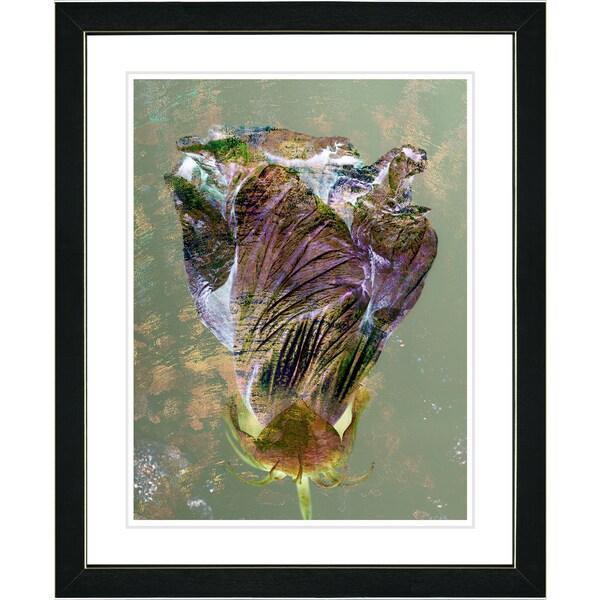 Zhee Singer 'Amber Autumn Bud' Framed Fine Art Print