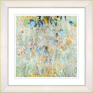 Zhee Singer 'Spring Meadow' Framed Fine Art Print (More options available)