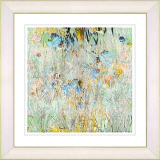 Zhee Singer 'Spring Meadow' Framed Fine Art Print