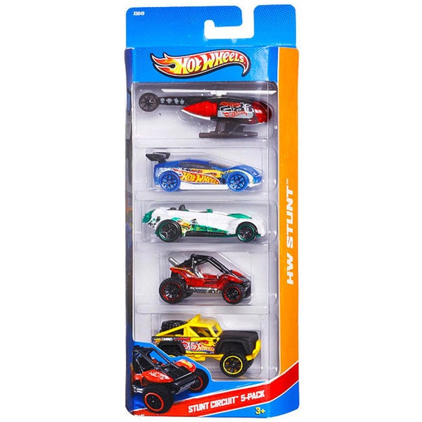 hot wheels stunt circuit 5 car set free shipping on. Black Bedroom Furniture Sets. Home Design Ideas