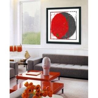 Studio Works Modern 'Luna Apex' Framed Fine Art Giclee Print