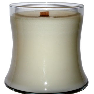Wedding Day 12-ounce Wooden Wick Soy Container Candle