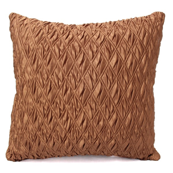 Austin Horn Classics Portsmouth Bronze Diamond-tufted Luxury Pillow