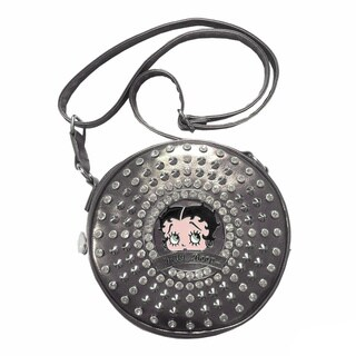 Betty Boop Small Cylinder Shaped Crossbody Bag