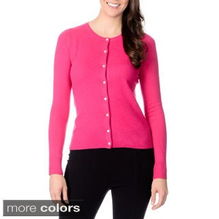 Ply Cashmere Women's Button-front Cashmere Sweater