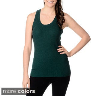 Ply Cashmere Women's Solid Sleeveless Tank
