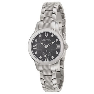 Bulova Accutron Women's 'Masella' Stainless Steel Swiss Quartz Watch