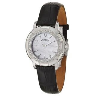 Bulova Accutron Women's 'Pemberton' Stainless Steel Swiss Quartz Watch